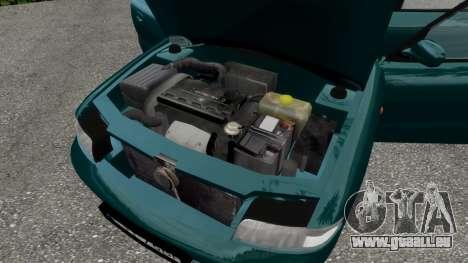 Daewoo Nubira I Hatchback CDX 1997 für GTA 4-Motor