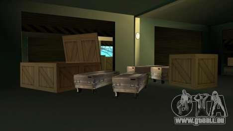 De nouvelles textures de San Fierro pour GTA San Andreas deuxième écran