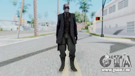 SkullFace Mask pour GTA San Andreas deuxième écran