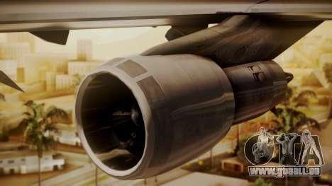 Boeing 747-100 Pan Am Clipper Maid of the Seas für GTA San Andreas rechten Ansicht
