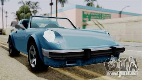 Comet from Vice City Stories pour GTA San Andreas vue de droite