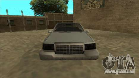 Stretch Sedan Cabrio für GTA San Andreas rechten Ansicht