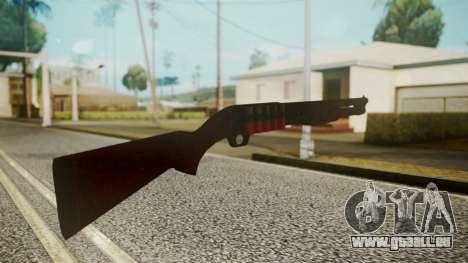 Shotgun by catfromnesbox pour GTA San Andreas troisième écran