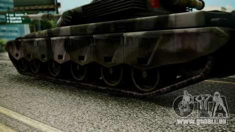 Type 99 from Mercenaries 2 pour GTA San Andreas sur la vue arrière gauche