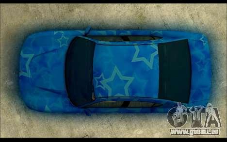 Bravado Buffalo Blue Star für GTA San Andreas rechten Ansicht
