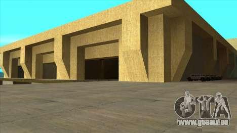 De nouvelles textures de San Fierro pour GTA San Andreas troisième écran