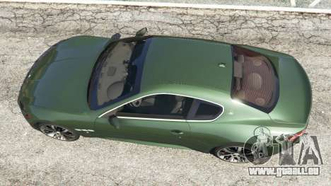 Maserati GranTurismo S 2010 für GTA 5