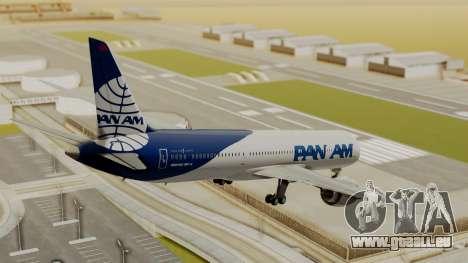 Boeing 787-9 Pan AM für GTA San Andreas linke Ansicht