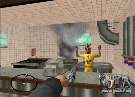 Deagle Styles pour GTA San Andreas troisième écran