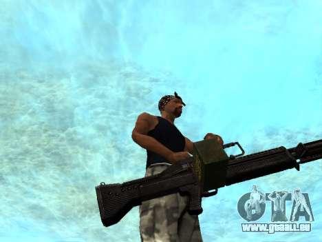 M249 für GTA San Andreas her Screenshot