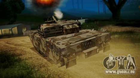 GTA 5 Rhino Tank für GTA San Andreas linke Ansicht