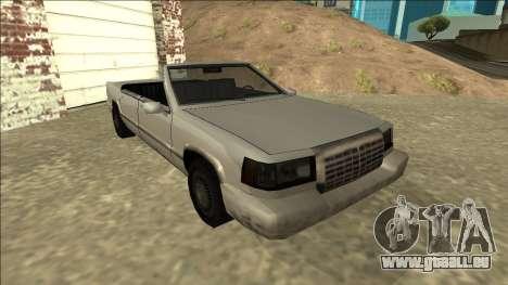 Stretch Sedan Cabrio für GTA San Andreas linke Ansicht