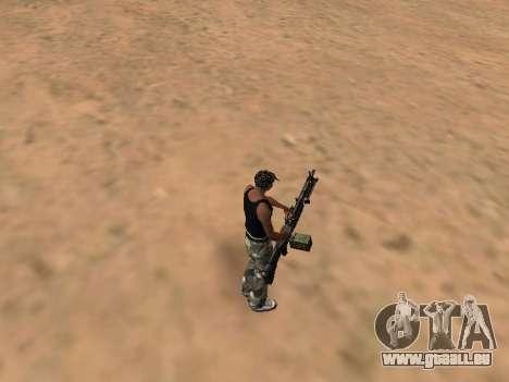 M249 für GTA San Andreas zweiten Screenshot