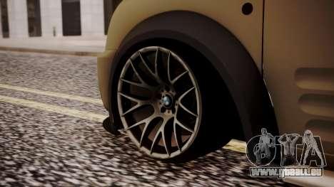 Ford Connect pour GTA San Andreas sur la vue arrière gauche