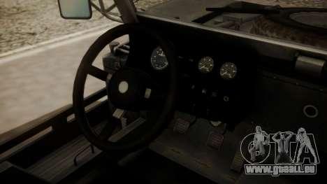 LY-T2021 pour GTA San Andreas vue arrière