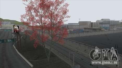 Autumn in SA v2 pour GTA San Andreas cinquième écran