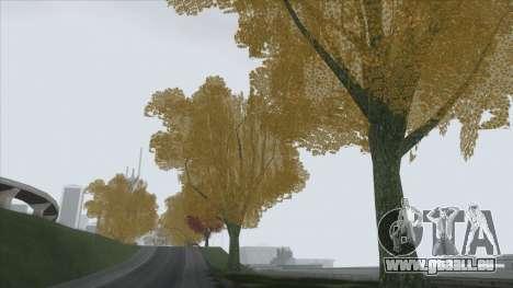 Autumn in SA v2 pour GTA San Andreas quatrième écran