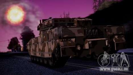 GTA 5 Rhino Tank IVF pour GTA San Andreas laissé vue