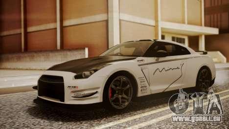 Nissan GT-R R35 2012 v2 für GTA San Andreas