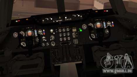 DC-10-10 National Airlines pour GTA San Andreas vue arrière