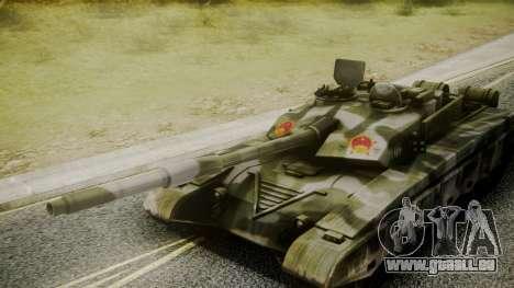 Type 99 from Mercenaries 2 pour GTA San Andreas vue de droite