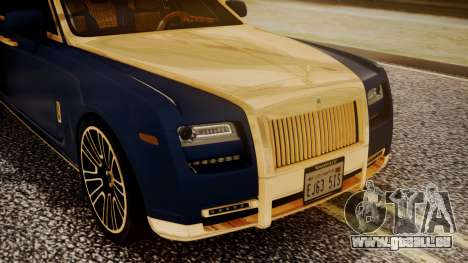 Rolls-Royce Ghost Mansory v2 für GTA San Andreas Rückansicht