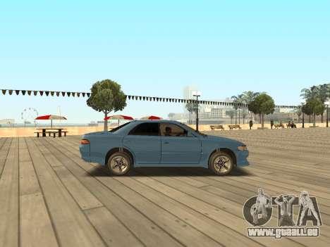 Toyota Mark II pour GTA San Andreas laissé vue