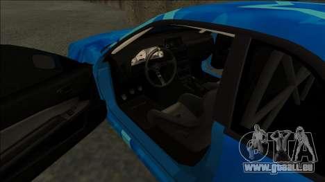 Nissan Skyline R34 Drift Blue Star pour GTA San Andreas vue de droite