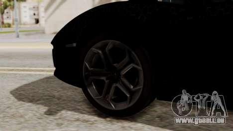 Lamborghini Aventador LP-700 Razer Gaming für GTA San Andreas zurück linke Ansicht
