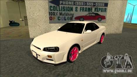 Nissan Skyline R34 Drift JDM für GTA San Andreas