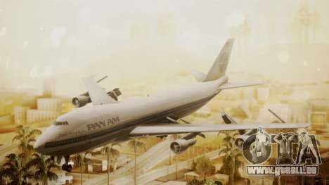 Boeing 747-100 Pan Am Clipper Maid of the Seas pour GTA San Andreas
