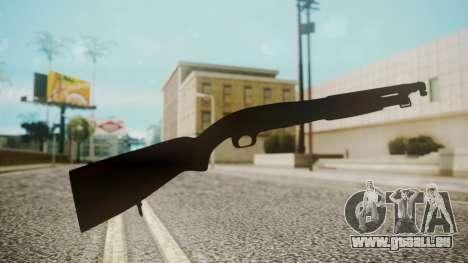 Winchester M1912 pour GTA San Andreas troisième écran