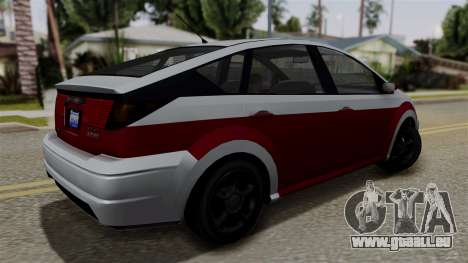 Deckers Solar (Dilettante) from SR3 für GTA San Andreas linke Ansicht