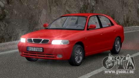 Daewoo Nubira I Hatchback CDX 1997 pour GTA 4
