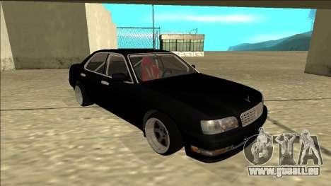 Nissan Cedric Drift pour GTA San Andreas laissé vue