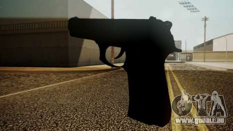 Beretta M9 Battlefield 3 pour GTA San Andreas deuxième écran