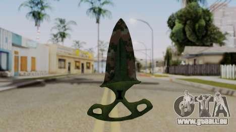 L'ombre de la Dague Pixel camouflage pour GTA San Andreas deuxième écran