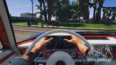 GTA 5 Mercedes-Benz 300SEL 6.3 v1.3 Rückansicht