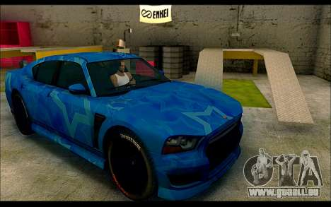 Bravado Buffalo Blue Star pour GTA San Andreas