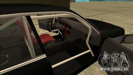 Nissan Cedric Drift pour GTA San Andreas sur la vue arrière gauche