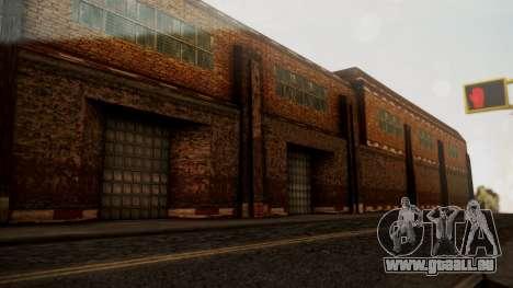 HDR Factory Build Mipmapped pour GTA San Andreas troisième écran