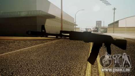 AK-74M Battlefield 3 pour GTA San Andreas deuxième écran