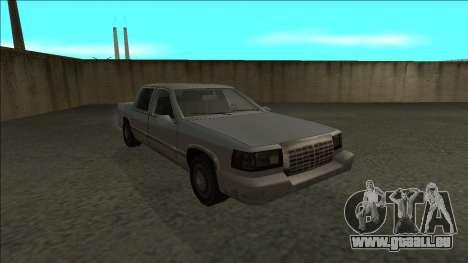 Stretch Sedan pour GTA San Andreas vue arrière