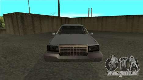 Stretch Sedan pour GTA San Andreas vue de droite