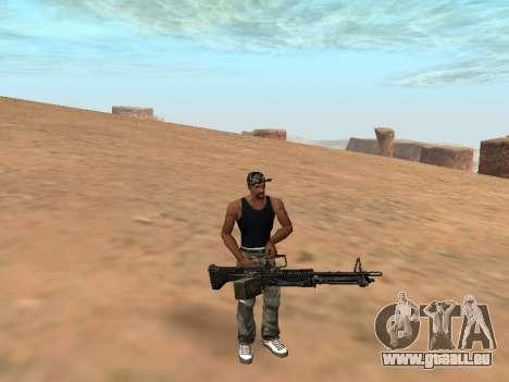 M249 für GTA San Andreas