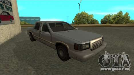 Stretch Sedan pour GTA San Andreas laissé vue