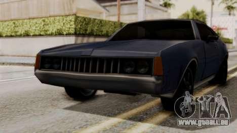 Clover Dub Edition pour GTA San Andreas sur la vue arrière gauche