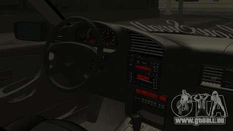 BMW M3 E36 Coupe pour GTA San Andreas vue de droite