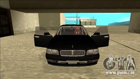 Nissan Cedric Drift pour GTA San Andreas vue intérieure