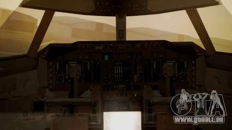 Boeing 747-400 Jat Airways für GTA San Andreas Rückansicht